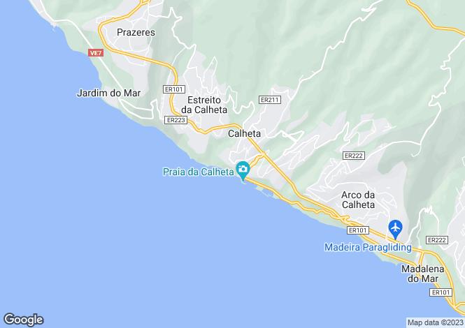 Map for Calheta, Calheta (Madeira), Madeira