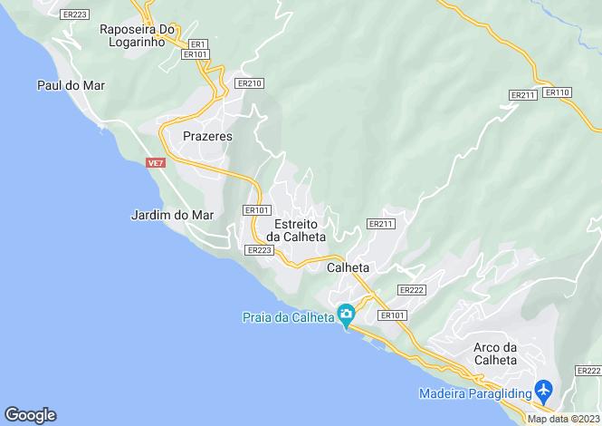 Map for Madeira, Calheta, Estreito Da Calheta