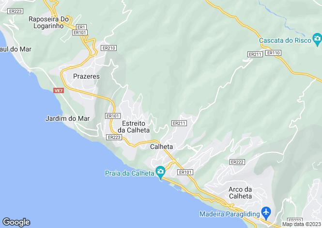 Map for Rua da Figueira , Estreito da Calheta, Calheta (Madeira)