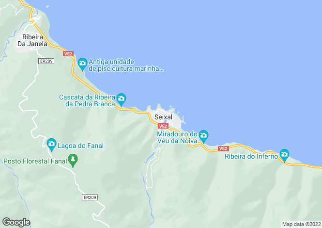Map for Concelho Do Porto Moniz, Madeira