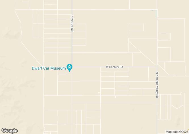 Map for Arizona, Pinal County, Maricopa