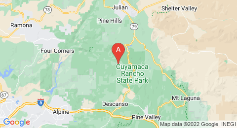 map of Cuyamaca Peak (United States of America)