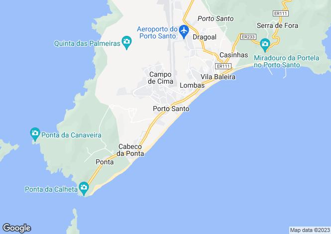 Map for Concelho Do Porto Santo, Madeira