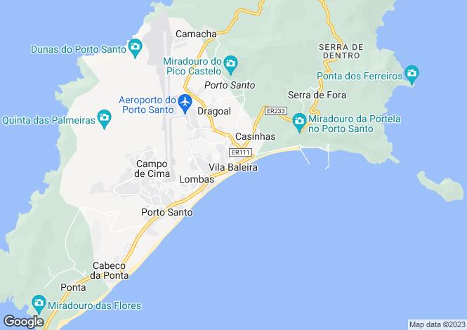 Map for Porto Santo, Porto Santo, Porto Santo