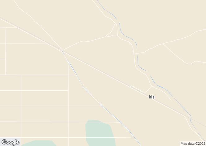 Map for California, Imperial County, Calipatria