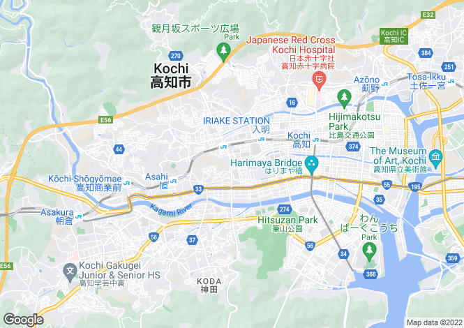 Map for Kochi