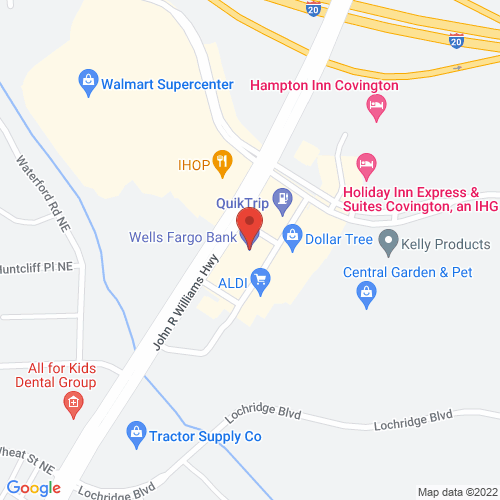Map of 11160 Highway 142 N, Covington, GA 30014