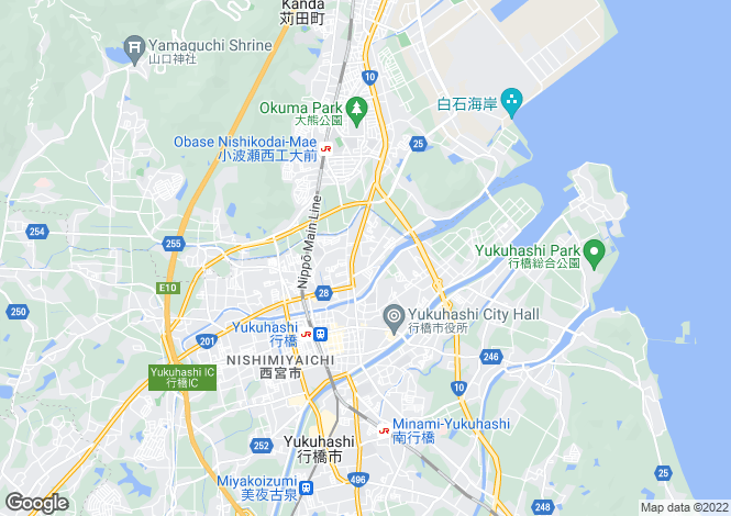 Map for Fukuoka