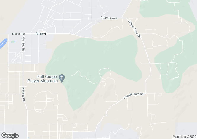 Map for California, Riverside County, Homeland