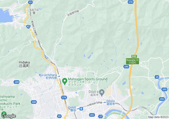 Map for Wakayama