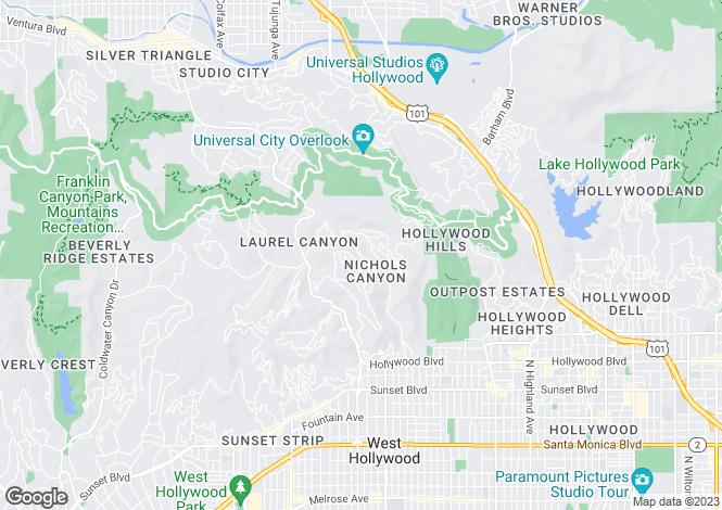 Map for Apollo Drive, Los Angeles, California
