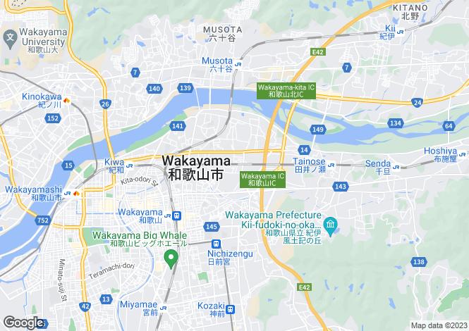 Map for Yamaguchi, Kano