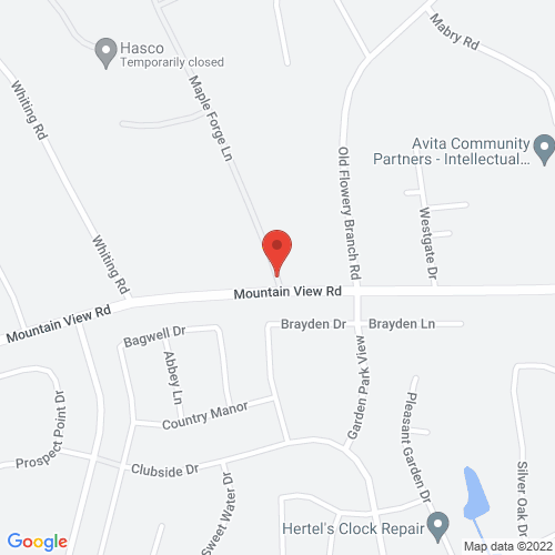 Map of 3000 block Maple Forge Lane