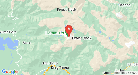 map of Harmukh (India)