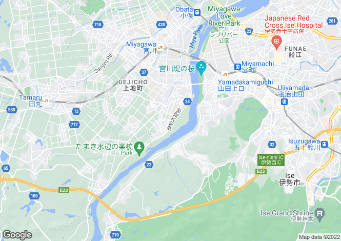 Map for Mie