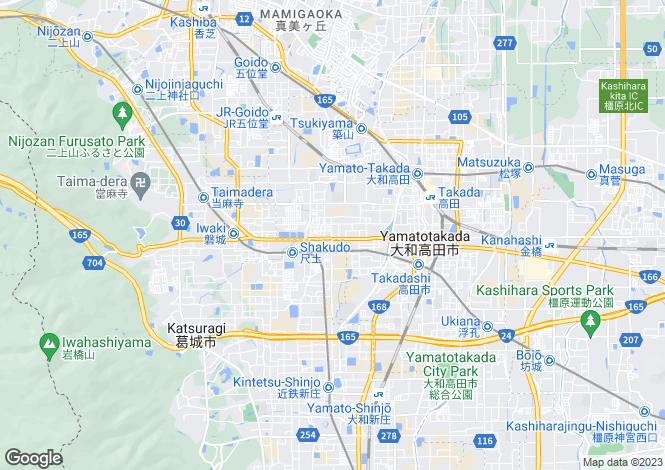 Map for Nara
