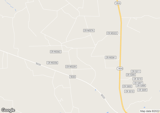 Map for Arizona, Apache County, Concho