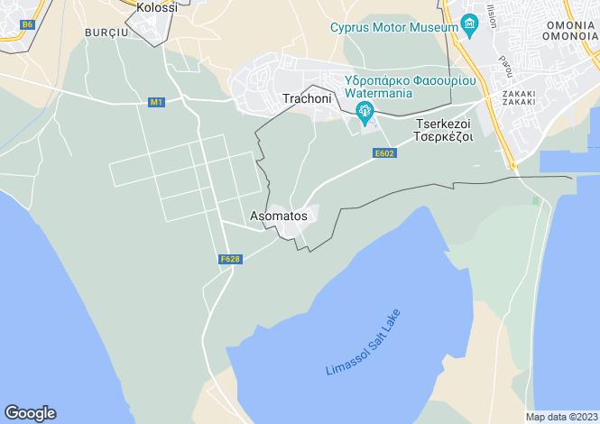 Map for Trachoni, Limassol