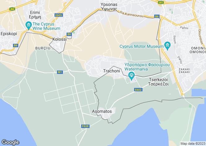 Map for Limassol Park, Trachoni, Limassol, Cyprus