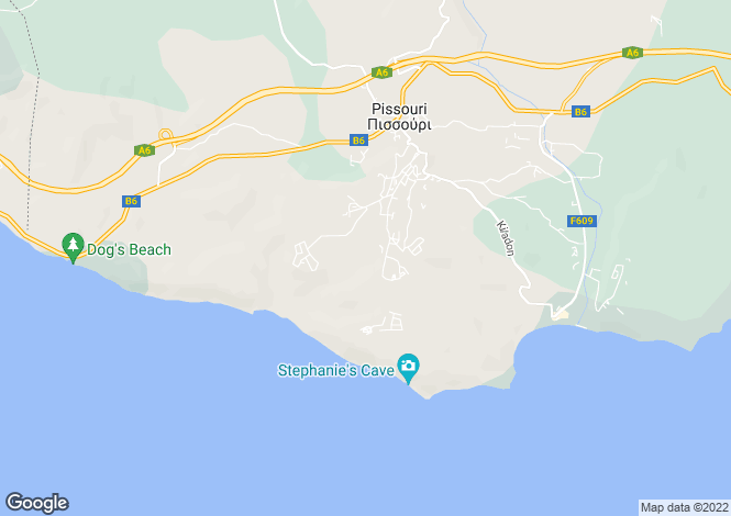 Map for Pissouri