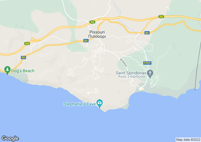 Map for Pissouri, Limassol