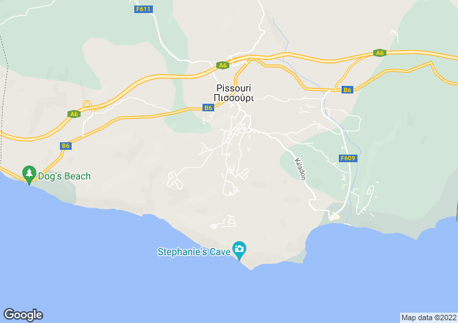 Map for Pissouri, Limassol