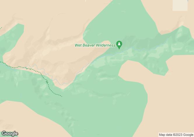 Map for Arizona, Yavapai County, Rimrock