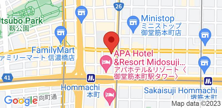 大阪ショールーム 地図