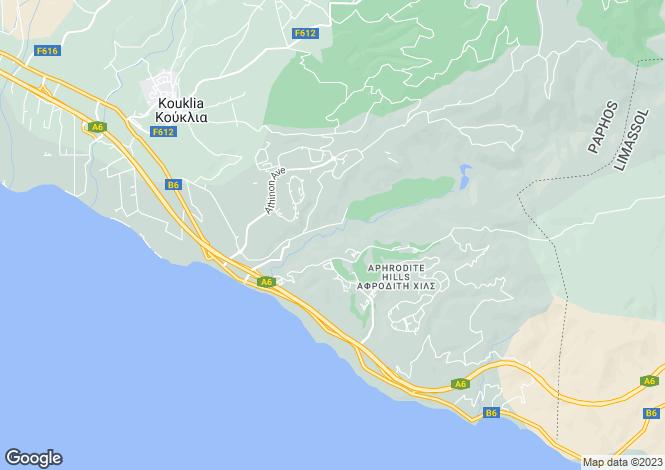 Map for Hapotami, Paphos