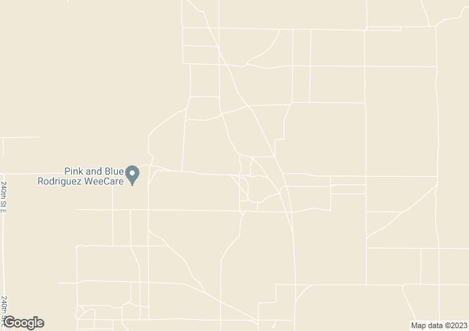 Map for California, San Bernardino County, El Mirage