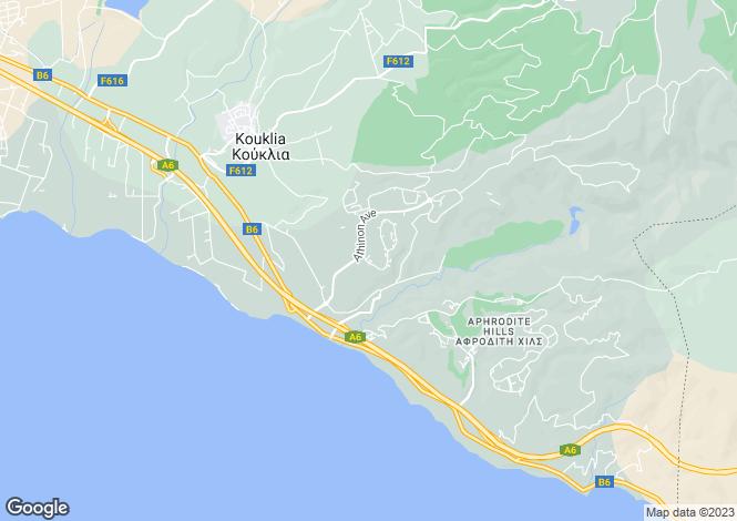 Map for Kouklia, Paphos