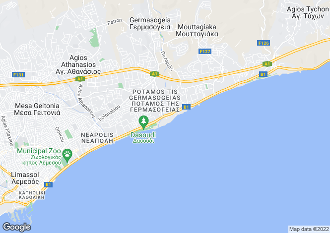 Map for Neapolis, Limassol
