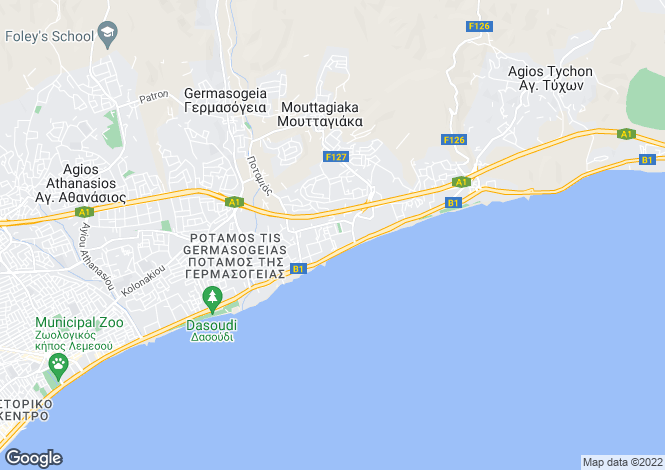 Map for Limassol