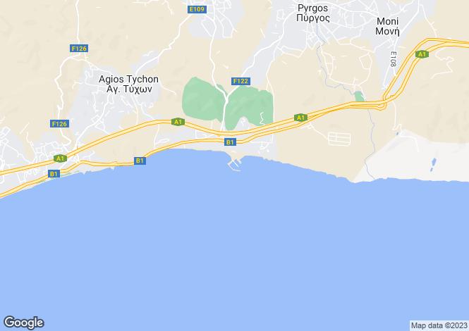 Map for Limassol Marina, Limassol