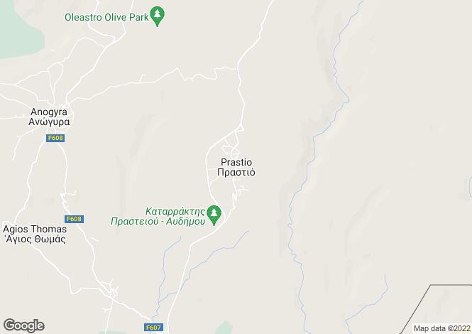 Map for Limassol, Prastio