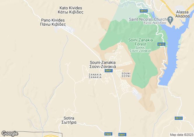 Map for Souni, Limassol, Cyprus