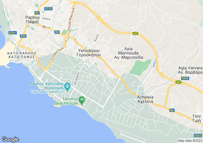 Map for Koloni, Paphos