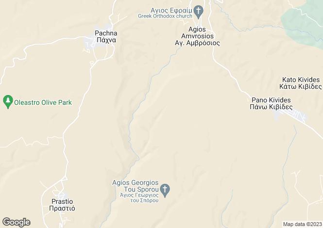 Map for Agios Ambrosios, Limassol