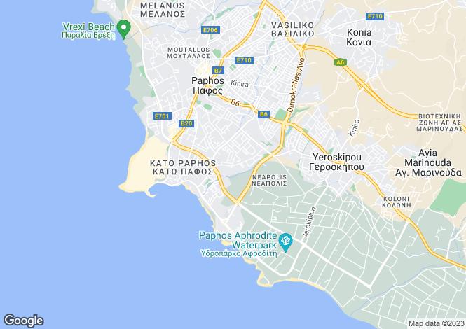 Map for Kato Paphos, Paphos