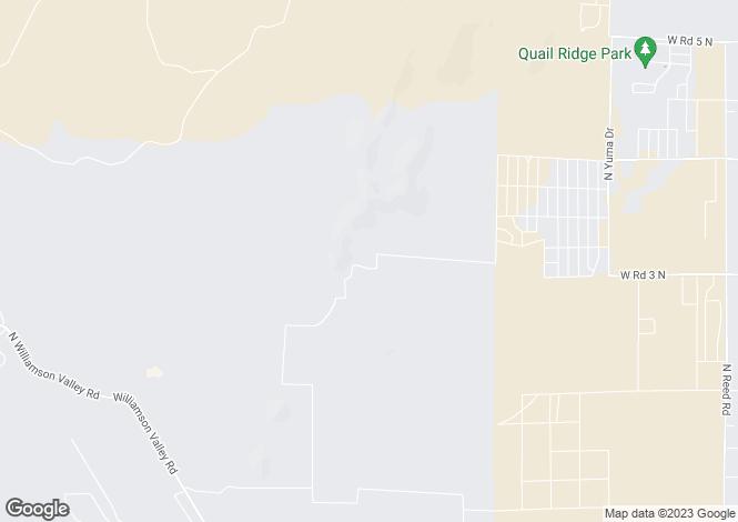 Map for Arizona, Yavapai County, Chino Valley