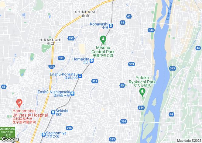 Map for Kanagawa, Yokosuka