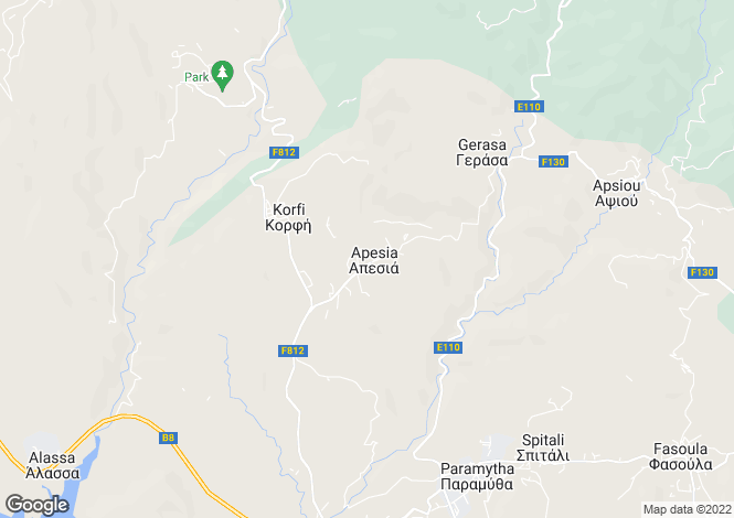 Map for Limassol, Agia Zoni