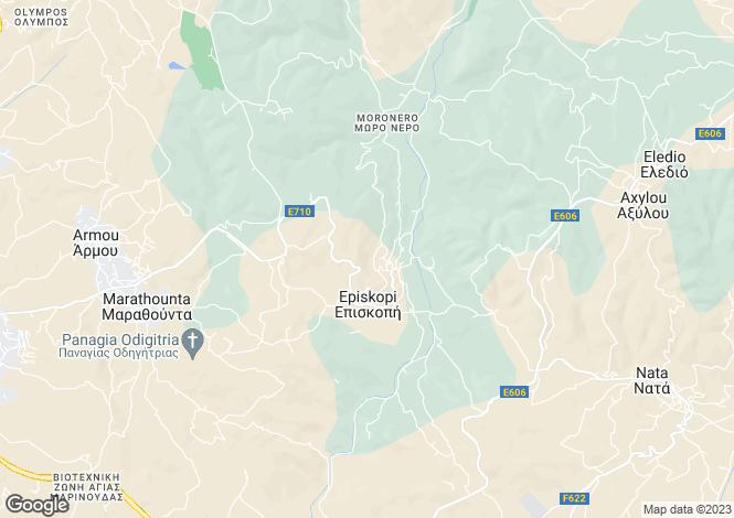 Map for Episkopi, Paphos