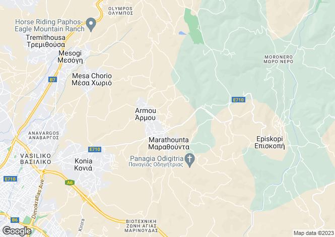 Map for Armou, Paphos