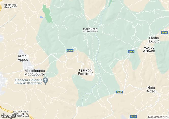 Map for Paphos, Episkopi