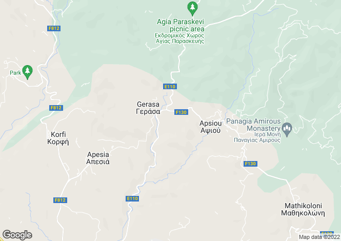 Map for Palodeia, Limassol