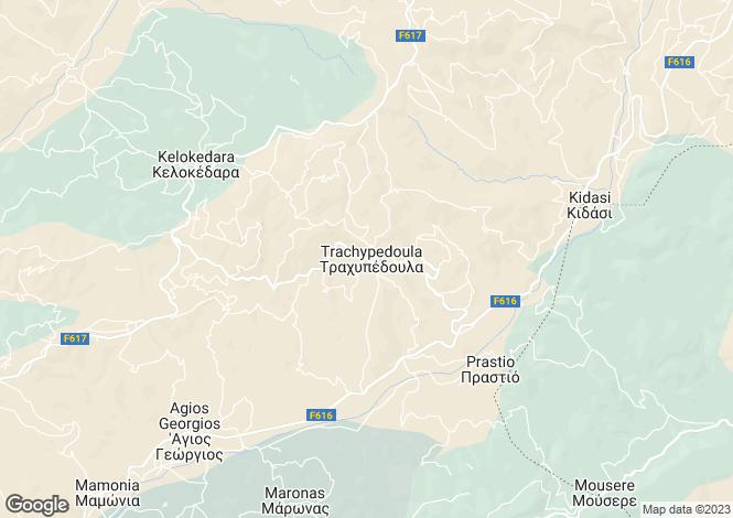 Map for Trachypadoula, Paphos