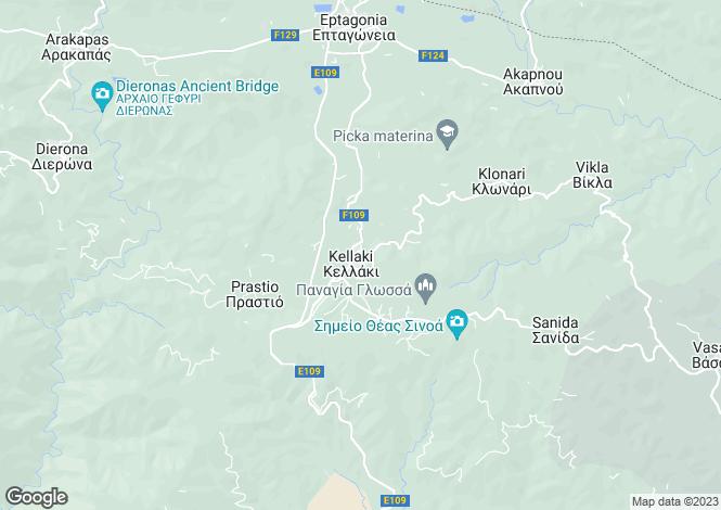 Map for Limassol, Kellaki