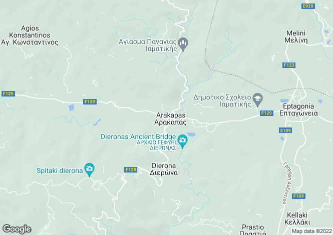 Map for Arakapas, Limassol