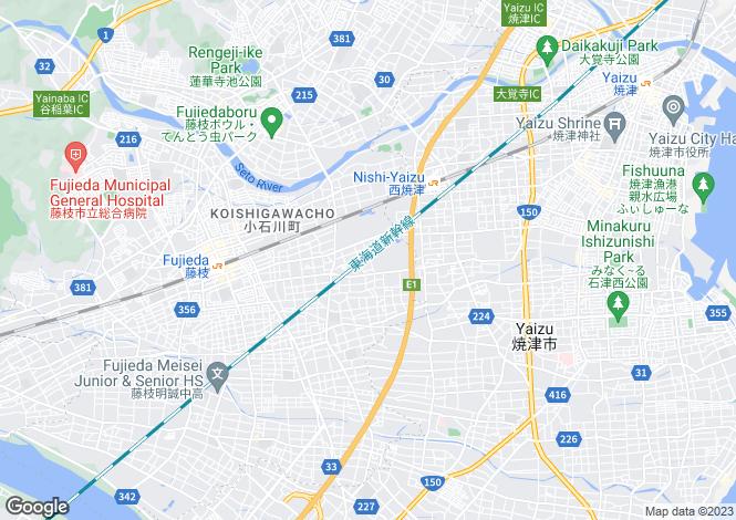 Map for Niigata, Takayanagi
